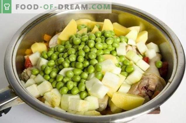 Žalioji žirnių sriuba