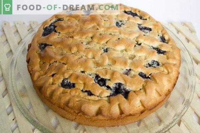 Mėlynės pyragas