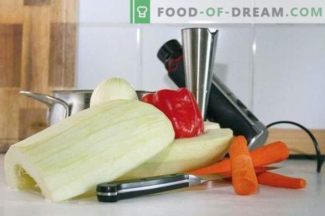 Zucchini-Püreesuppe