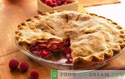Aviečių pyragas lėtoje viryklėje - vasaros arbata! Šeši aviečių pyragų receptai lėtoje viryklėje: sausainiai, želė, iš manų kruopos