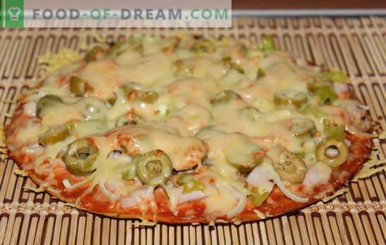 Mielos be mielių receptas - įdomus! Daug receptų gaminant picą ant mielių be tešlos - pasirinkite!