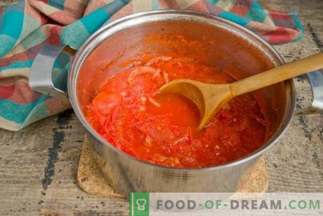 Naminiai pomidorų padažai - už nepalyginamai gardų kebabą!