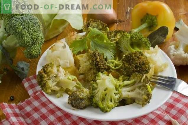 Brokolių troškinys su vištiena