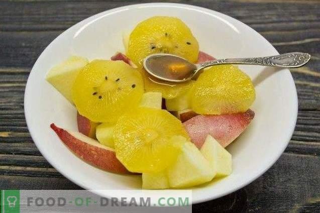 Kiwi-nektarino puodelis