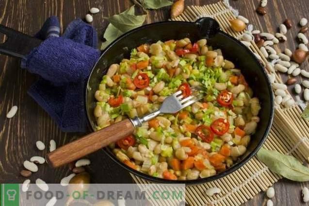 Daržovių troškinys su pupelėmis