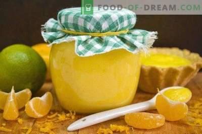 Orangen-Kurde mit Limetten und Mandarinen
