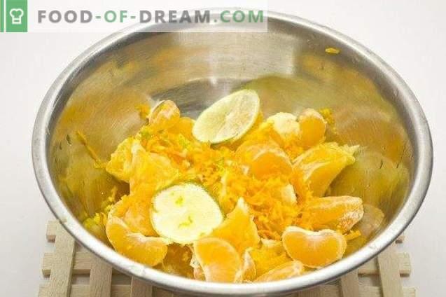 Курд портокал со вар и мандарини