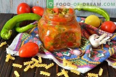 Makaronų padažas su pipirais ir pomidorais