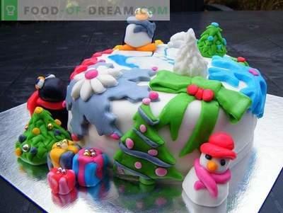 Naujųjų metų tortas - Naujųjų metų šventės receptai