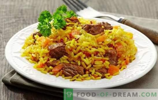 Kaip mitybos ar daržovių skanus pilaf į lėtą viryklę? Skanių pilaf receptų pasirinkimas įvairiose viryklėse, pagamintose iš įvairių mėsos ar žuvies