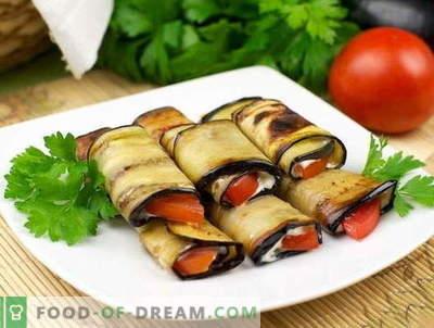 Les meilleures recettes sont la largeur de la langue d'aubergine. Comment cuire correctement et savoureux langue Teschin de l'aubergine.