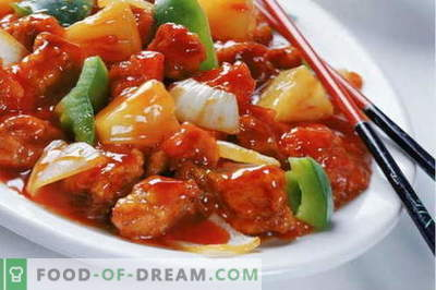 Vištiena kinų kalba - geriausi receptai. Kaip tinkamai kepti vištieną kinų kalba.