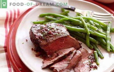 Liha veinis on teie laual suurepärane roog! Retseptid hämmastav liha veini ploomide, seente, mee, kartulite, ananassidega