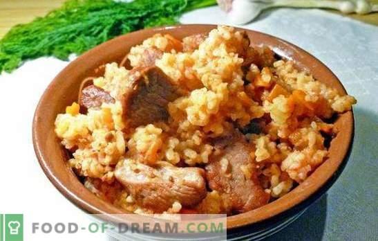 Laipsniškas teisingo ėriukų pilafo receptas. Avienos patiekalų virimo technologija žingsnis po žingsnio pilau receptai