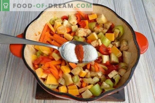 Moliūgų sriuba su pipirais ir bulvėmis