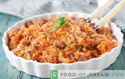 Kopūstų troškinys su mėsa ir bulvėmis - visa sezono patiekalas! Troškinti kopūstai su mėsa ir bulvėmis įvairiais būdais: receptai