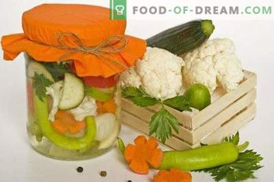 Piatto di verdure per l'inverno