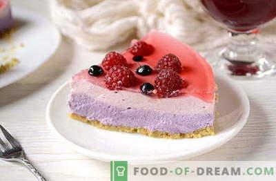 Naminis želė tortas be kepimo - puikus desertas laisvalaikiui. Užrašykite receptą!