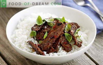 Tajų mėsa yra egzotiška jūsų virtuvėje. Geriausi Tailando mėsos receptai: vištiena, jautiena, veršiena, kiauliena