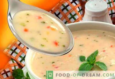 Sriubos vaikams - patvirtinti receptai. Kaip tinkamai ir skaniai gaminti sriubas vaikams.