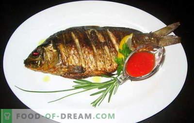 Kaip kepti žuvis keptuvėje: receptai ir patarimų virėjai. Kiek kepti žuvis ir kaip: sveikos mitybos klausimas