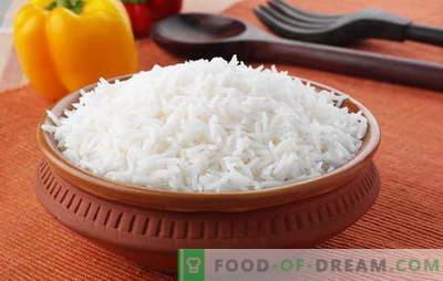 Kaip ruošti ryžius taip, kad jis būtų trapus. Receptai iš palaidų ryžių, kepimo ryžių paslaptis, kad ji būtų trapi