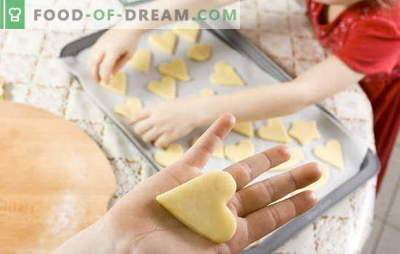 Kaip padaryti, kad slapukai būtų namuose: greitai, skaniai, lengvai. Naminių sausainių receptai: varškės, kokoso, moliūgų
