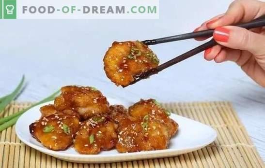 Vištiena medaus garstyčių padaže yra auksinis paukštis! Receptai, skirti vištiena užkandžiams medaus ir garstyčių padaže, sveiki ir griežinėliai