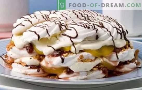 """Saldainių pyragas be kepimo yra konditerių idėja. Receptai """"šalto"""" vaivorykštės pyragams: be kepimo - taip pat skanūs"""