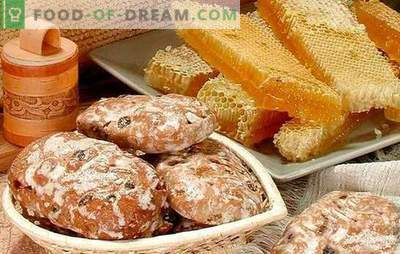 Gingerbread namuose - receptai. Pipirai ant kefyro, meduolių su meduoliais: kaip padaryti skanius pipirus namuose