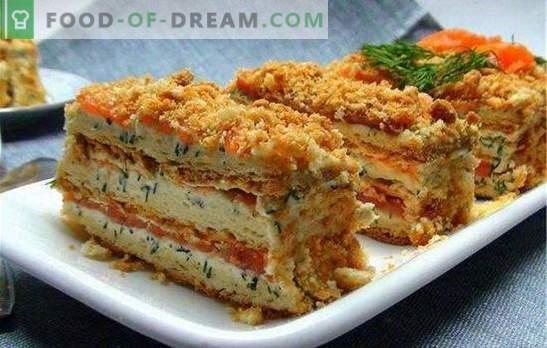 Žuvų pyragas, pavadintas didžiojo imperatoriaus Napoleono vardu. Sūris, braškė, žuvis, kaip tu, imperatorius?