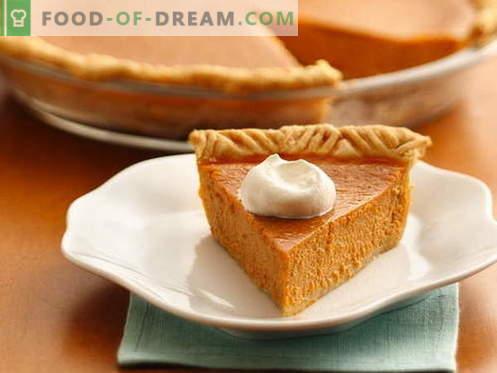 Moliūgų pyragas - geriausi receptai. Kaip tinkamai ir skaniai ruošti moliūgų pyragą.
