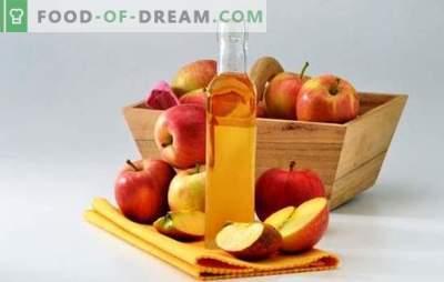 Obuolių sidro actas: kaip jį tinkamai paruošti. Acto iš obuolių virimo paslaptys namuose