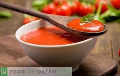 Pomidorų padažas namuose - natūraliai! Naminis pomidorų padažas iš šviežių pomidorų, pomidorų pasta ar sulčių, su čili pipirais, žolelėmis, česnakais