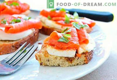 Šventiniai sumuštiniai yra geriausi receptai. Kaip greitai ir skaniai ruošti šventinius sumuštinius.