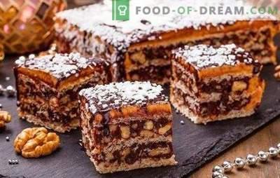 Karaliaus pyragas be miltų yra puikus desertas! Paprasti receptai karališkam tortui be miltų su krakmolu, riešutais, krekeriais