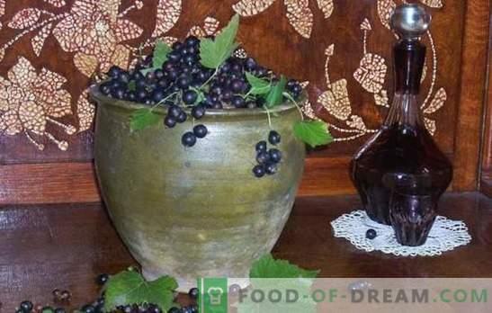 Kaip padaryti juodųjų serbentų vyną? Penki paprastų naminių juodųjų serbentų vynų receptai: jaunas, desertas, likeris