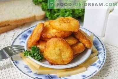 Bulvių kroketai - įdomus paprastų bulvių patiekalas