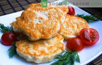 Chicken cutlets with mayonnaise - give juiciness! Recipes ordinary and chopped chicken cutlets with mayonnaise