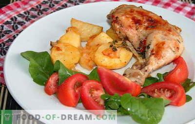 Originalūs aštrų vištienos kojų receptai su bulvėmis orkaitėje. Kumpis su bulvėmis orkaitėje: skanus, greitas ir paprastas