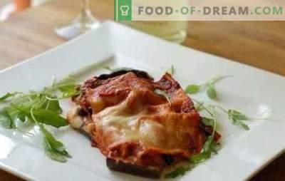 Baklažanai su sūriu ir česnaku orkaitėje - elementarūs ir elegantiški! Įvairių baklažanų patiekalų receptai su sūriu ir česnaku orkaitėje