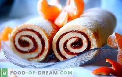 Roll su uogiene - paprastas, tvarkingas, gražus! Receptai sausainiai, smėlis, mielių ritiniai su uogiene