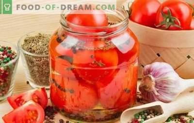 Pomidorai žiemai - greitas pomidorų ruošinių receptas. Pomidorų išsaugojimo būdai - žiemos receptai, greitai ir be vargo