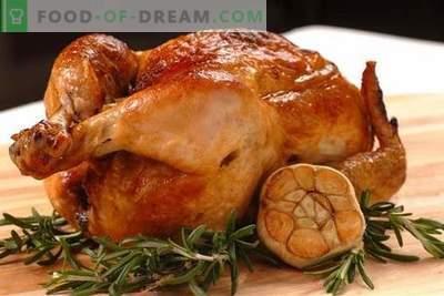Vištiena su česnakais - geriausi receptai. Kaip tinkamai ir skaniai virti vištieną su česnakais.