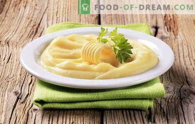 Kiaušinių bulvių košės yra dar vienas būdas populiariems patiekalams. Bulvių košė su kiaušiniu, pienu ir kiaušiniu, su sviestu ir kiaušiniu