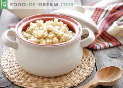Weizenbrei - die besten Rezepte. Wie man Weizenbrei kocht.
