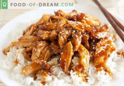 Teriyaki vištienos - geriausi receptai. Kaip tinkamai ir skaniai virti teriyaki vištienos.