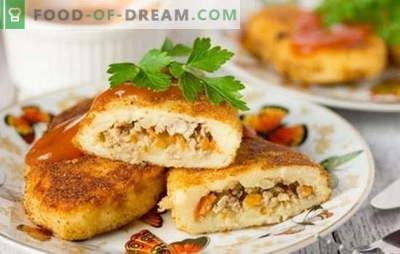 Bulvių zrazy su malta mėsa - tikroji senovė! Bulvių zraz receptas su malta mėsa: siaubinga fantazija