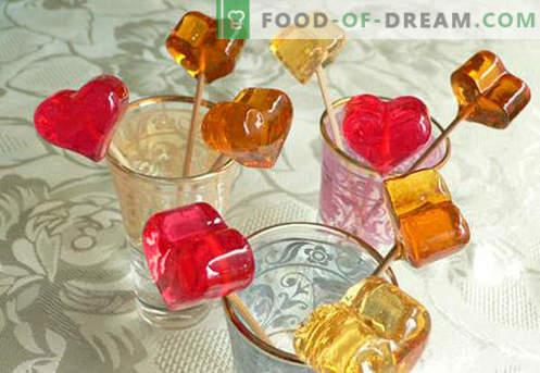 Naminiai saldainiai - geriausi receptai. Kaip greitai ir skaniai ruošti naminius saldainius.