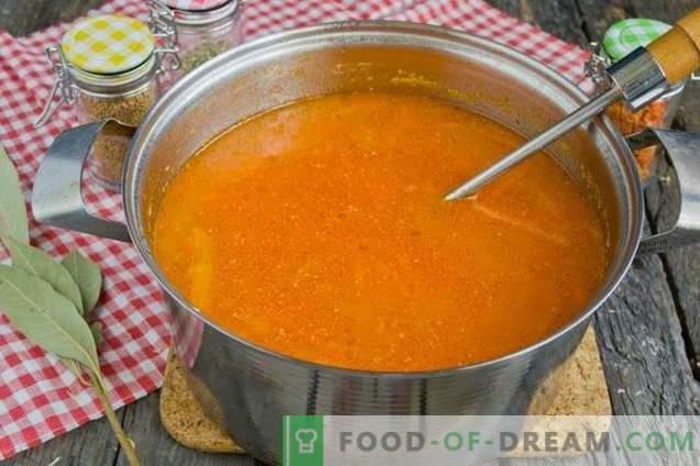 Pomidorų sriuba su bulvėmis